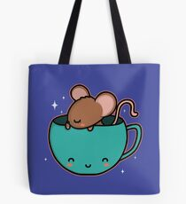 Teacup Mouse Tote Bag