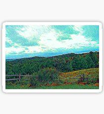 Colorful Landscape Sticker