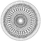 Petalled Mandala - By SimmyGhatt by simmyghatt
