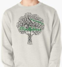 Mindfulness Tree Word Cloud Pullover