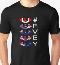 #TeamPatriot - FVEY Five Eyes Signals Intelligence.  Unisex T-Shirt