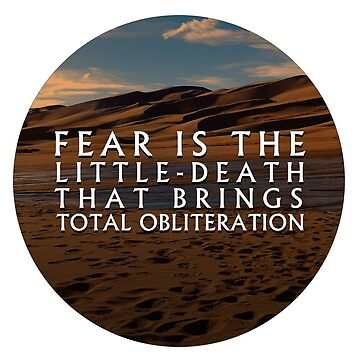 Little Death | Litany Against Fear | Dune by largerglasses