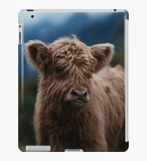 Baby Highland Cow iPad Case/Skin