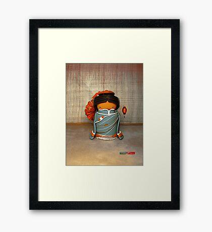 CHUNKIE China Framed Print