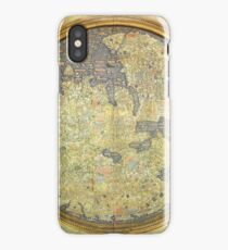 The Fra Mauro Map of the world. The map depicts Asia, Africa and Europe. iPhone Case