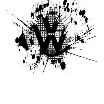 Retro VW Logo Tshirt - Volkswagen Beetle Camper Interest by PROM11