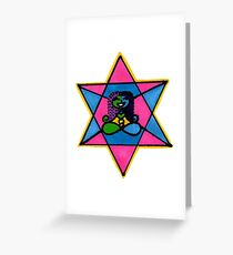 Teleport, It's Faster Greeting Card