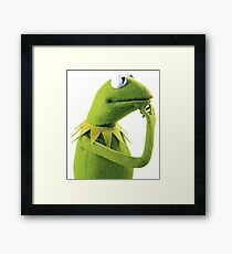 Kermit The Frog (The Muppets) Framed Print