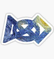 FIRST Logo - The Starry Night Sticker