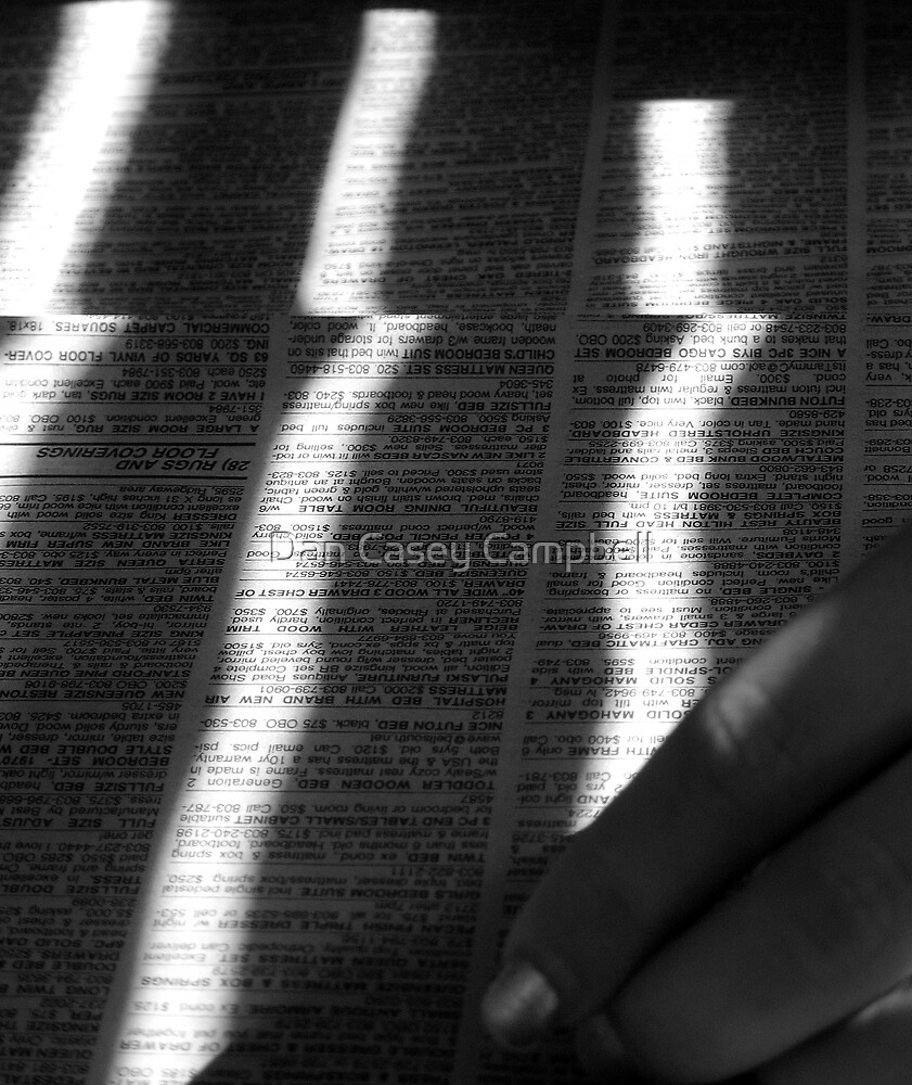 Read between the Lines... by Dan Casey Campbell
