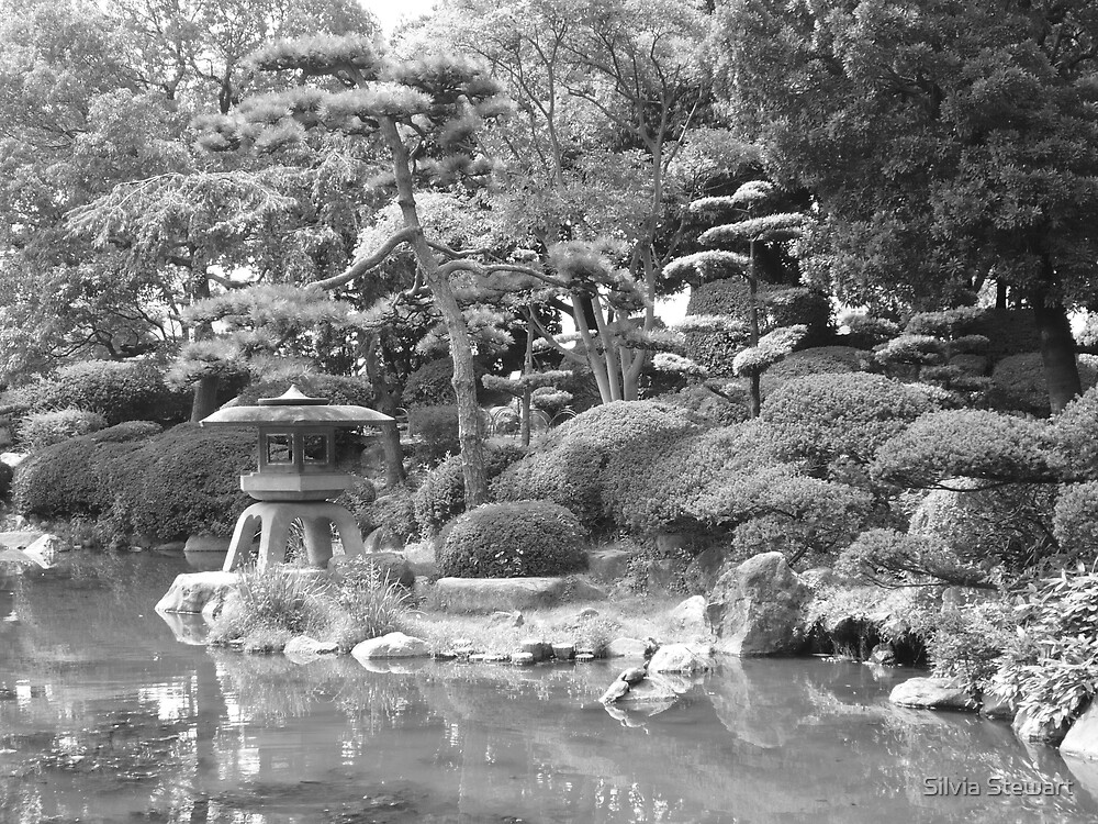 Japanese garden by Silvia Solberg