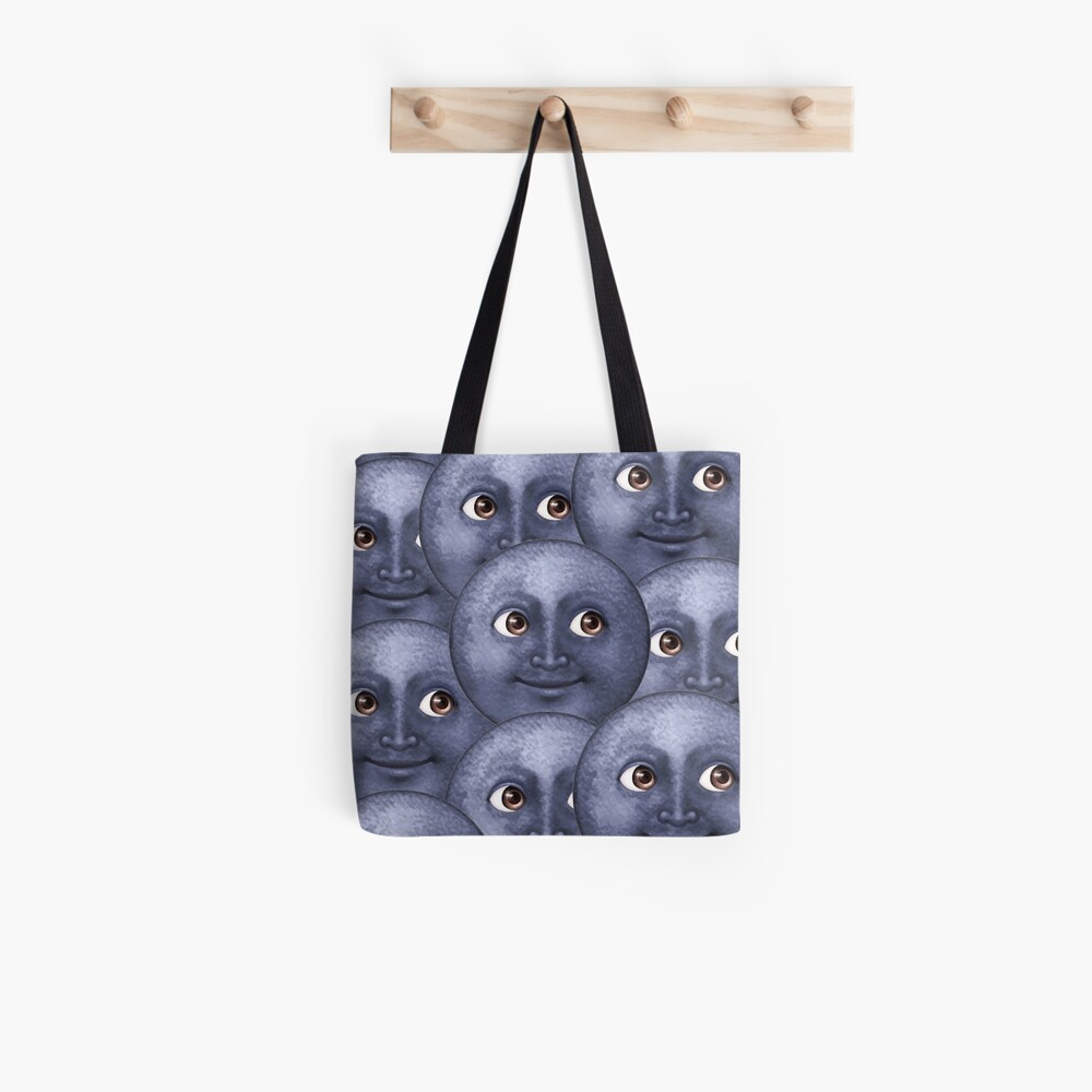moon emoji  Tote Bag