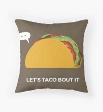 Taco Throw Pillows | Redbubble