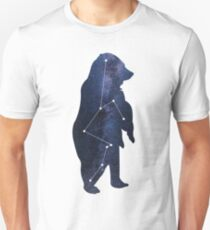 galaxy bear Astrological sign art Unisex T-Shirt