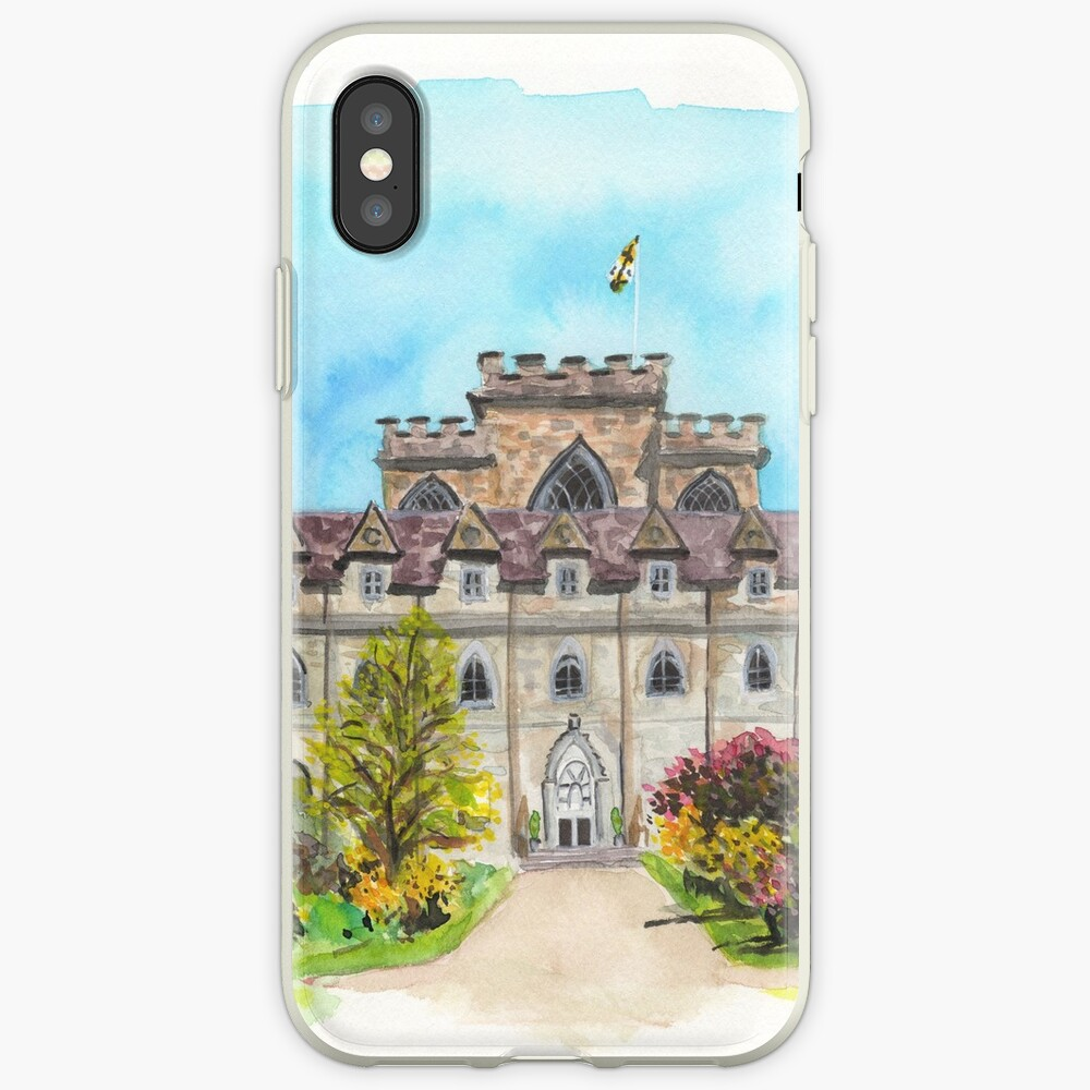Castillo de Inveraray Funda y vinilo para iPhone