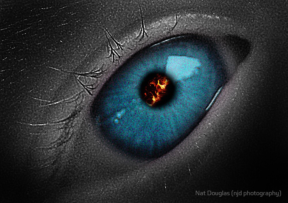 Fire in the Eye by Nat Douglas (njd photography)
