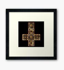 Lament Configuration Cross Framed Print