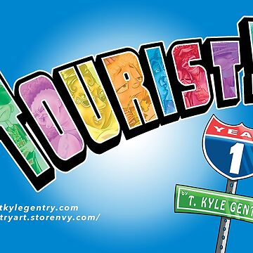 Tourist! Year 1 Logo by oogiboogi