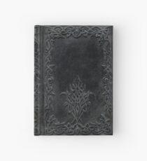 Tribal Edging Book Cover Dark Hardcover Journal