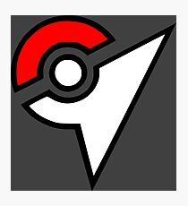 Pokemon - Gym Logo Photographic Print