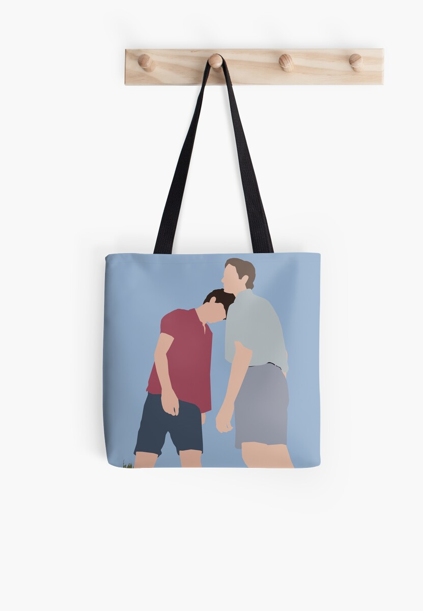 Call Me By Your Name Minimalist Tote Bags By Luckysarts Redbubble