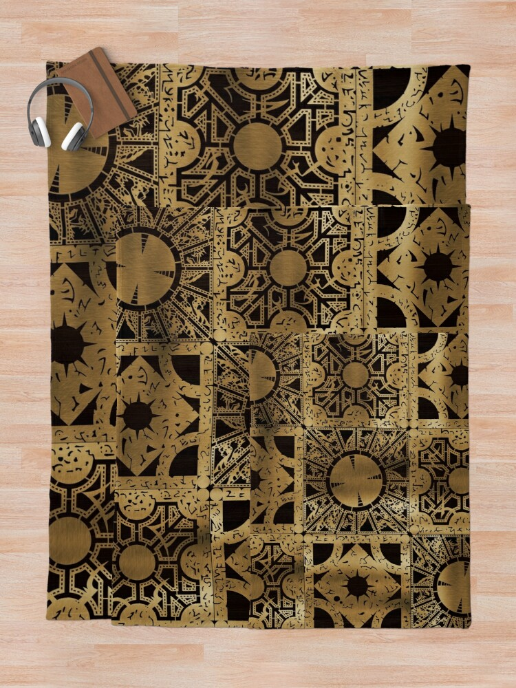 Alternate view of Lament Configuration Side A Throw Blanket