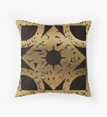 Lament Configuration Side F Throw Pillow