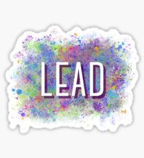Lead Splatter Sticker