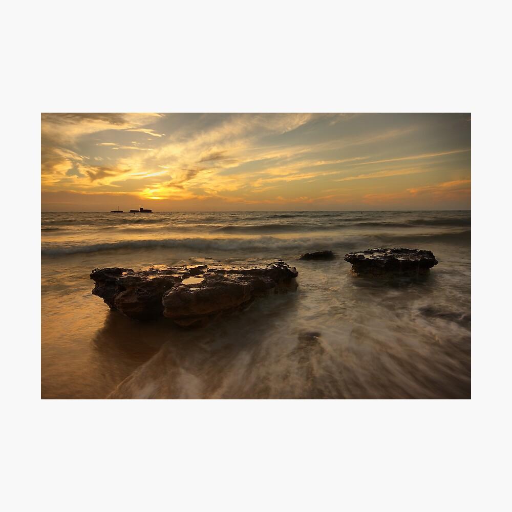 Cerberus Sunset Photographic Print
