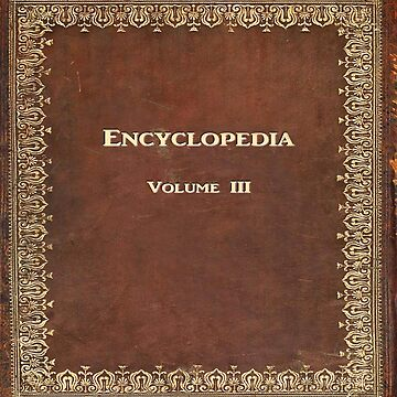 Antique Encyclopedia by Falln