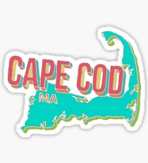 Cape Cod Geotag Sticker