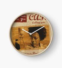 Bagdad cafe , poster alternativo, ruta 66, calling you, german film,póster de pelicula, cartel retro, ilustración Reloj