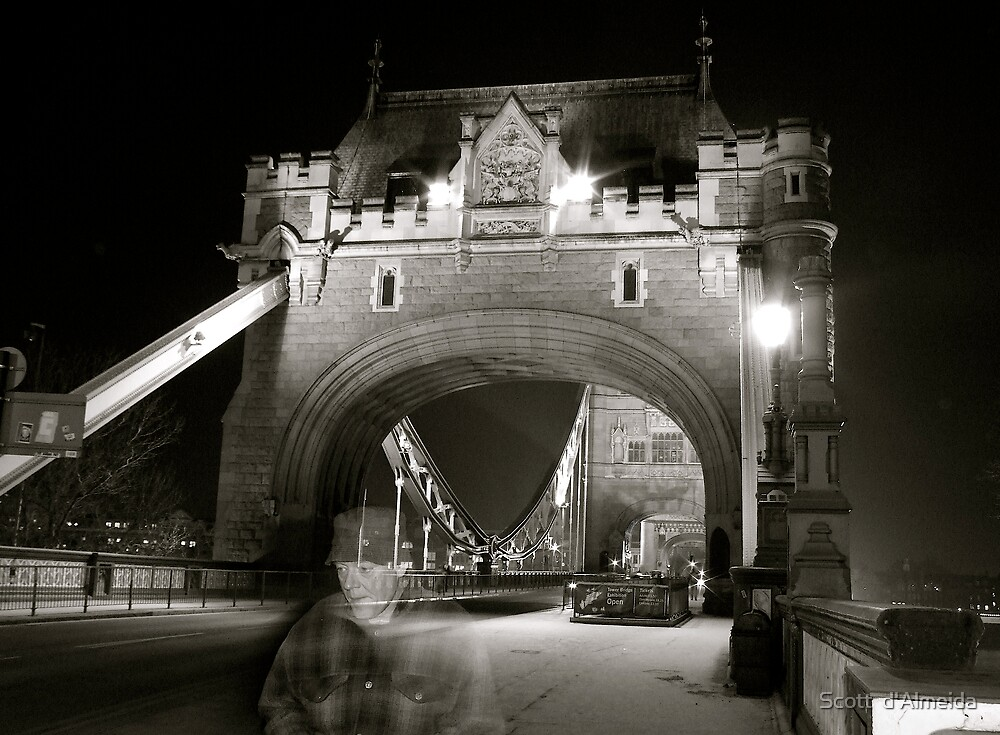 TOWER BRIDGE GHOST by Scott  d'Almeida