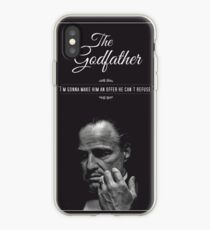 The Godfather - alternative poster, Marlon Brando, Francis Ford Coppola, Al Pacino, Mario Puzo, movie poster, film poster, retro poster Vinilo o funda para iPhone