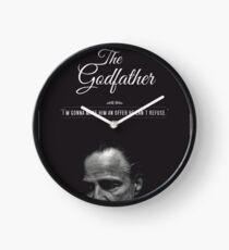 The Godfather - alternative poster, Marlon Brando, Francis Ford Coppola, Al Pacino, Mario Puzo, movie poster, film poster, retro poster Reloj