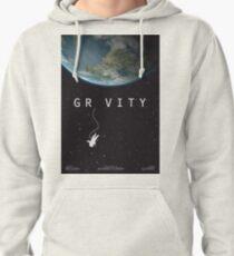 Gravity, alternative poster, printable, Sandra Bullock, George Clooney, Alfonso Cuaron, nasa astronaut, movie poster, film poster Sudadera con capucha