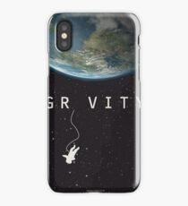 Gravity, alternative poster, printable, Sandra Bullock, George Clooney, Alfonso Cuaron, nasa astronaut, movie poster, film poster Vinilo y funda para iPhone