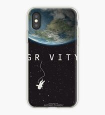 Gravity, alternative poster, printable, Sandra Bullock, George Clooney, Alfonso Cuaron, nasa astronaut, movie poster, film poster Vinilo o funda para iPhone