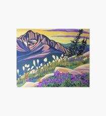 Beargrass and Beardtongue Art Board