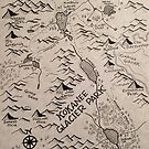 Kokanee Glacier Map by Abby Wilson