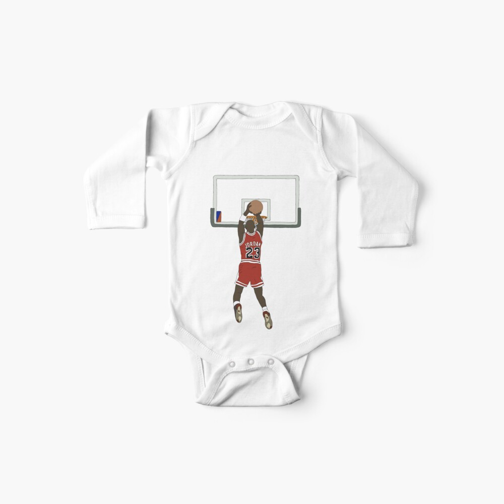 Michael Jordan Game Winner Baby One-Piece