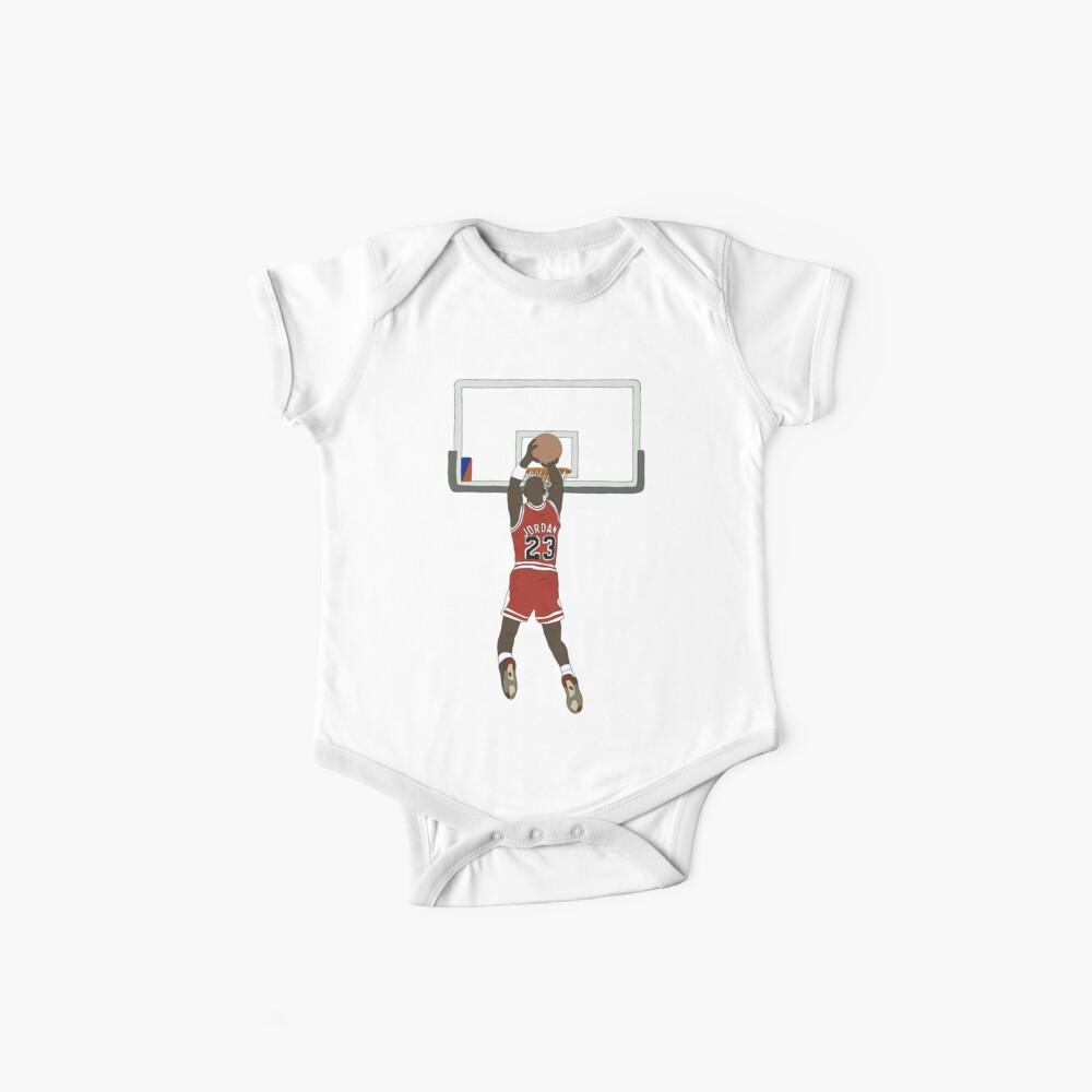Michael Jordan Game Winner Baby One-Piece