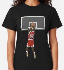 Michael Jordan Spiel Gewinner Classic T-Shirt