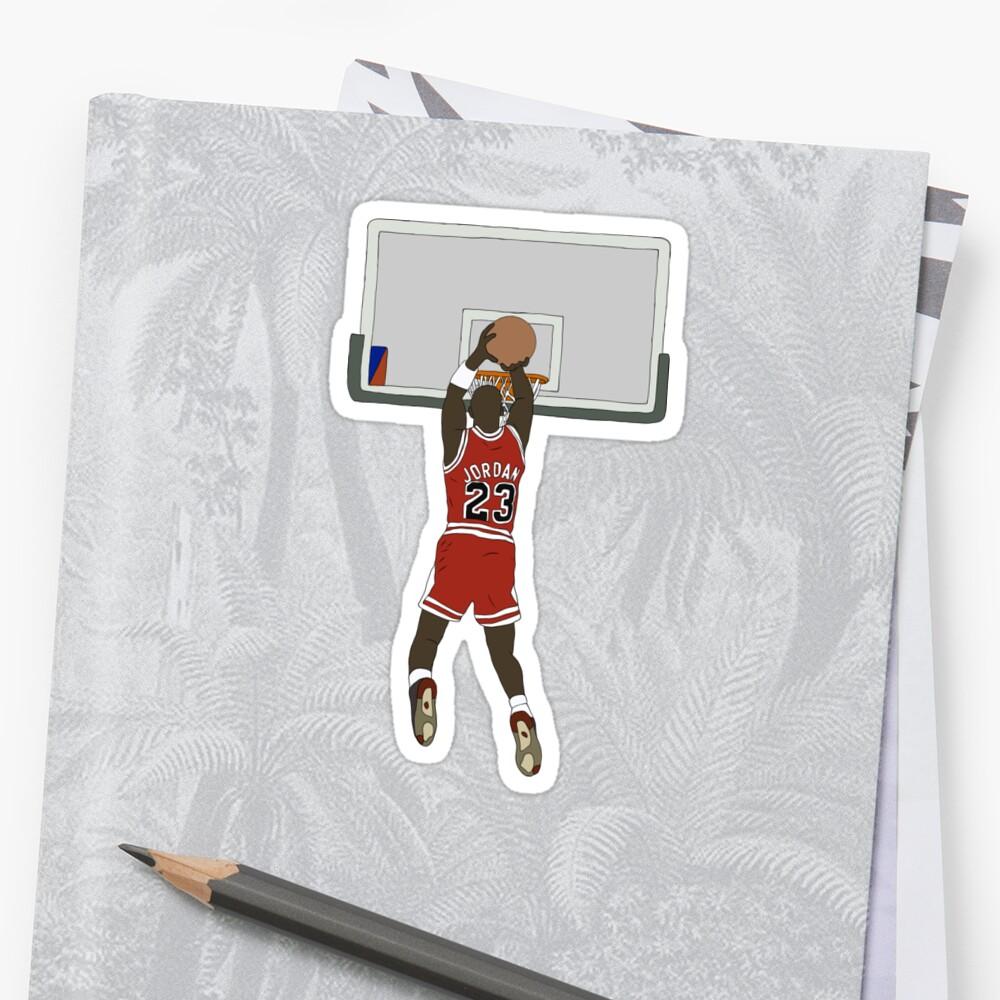 Michael Jordan Game Winner Stickers