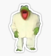 Kermit the Frog from Once In a Lifetime Sticker