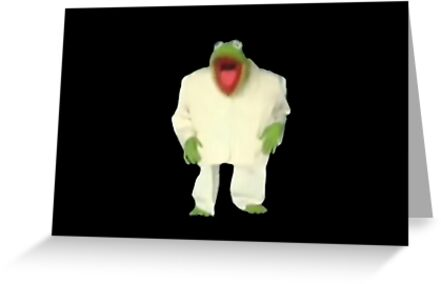 Kermit the frog from once in a lifetime greeting cards by kermit the frog from once in a lifetime by angersandwich m4hsunfo