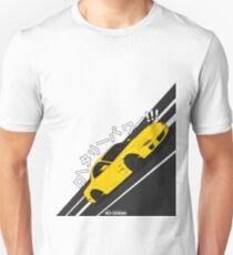 Mazda RX7 FD - Rotary Power (Yellow) T-Shirt
