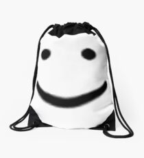 Oof smile Drawstring Bag