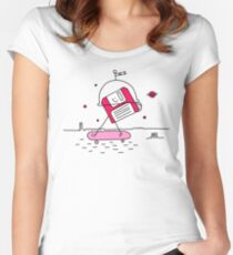 Mars in the 80s Women's Fitted Scoop T-Shirt