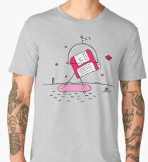 Mars in the 80s Men's Premium T-Shirt